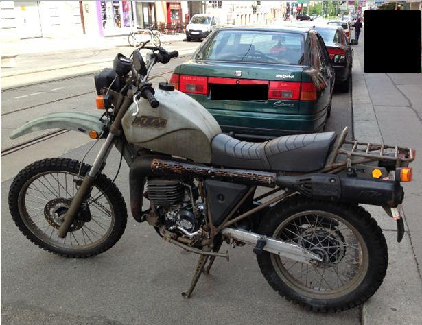 KTM Vintage Bike