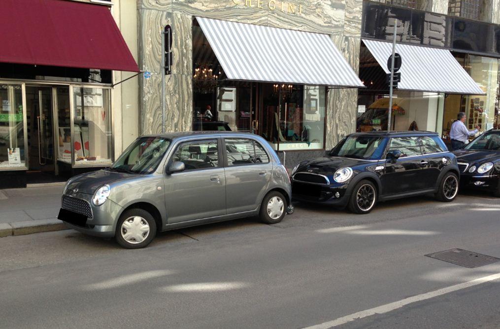 Mini Cooper S & Daihatsu Trevis