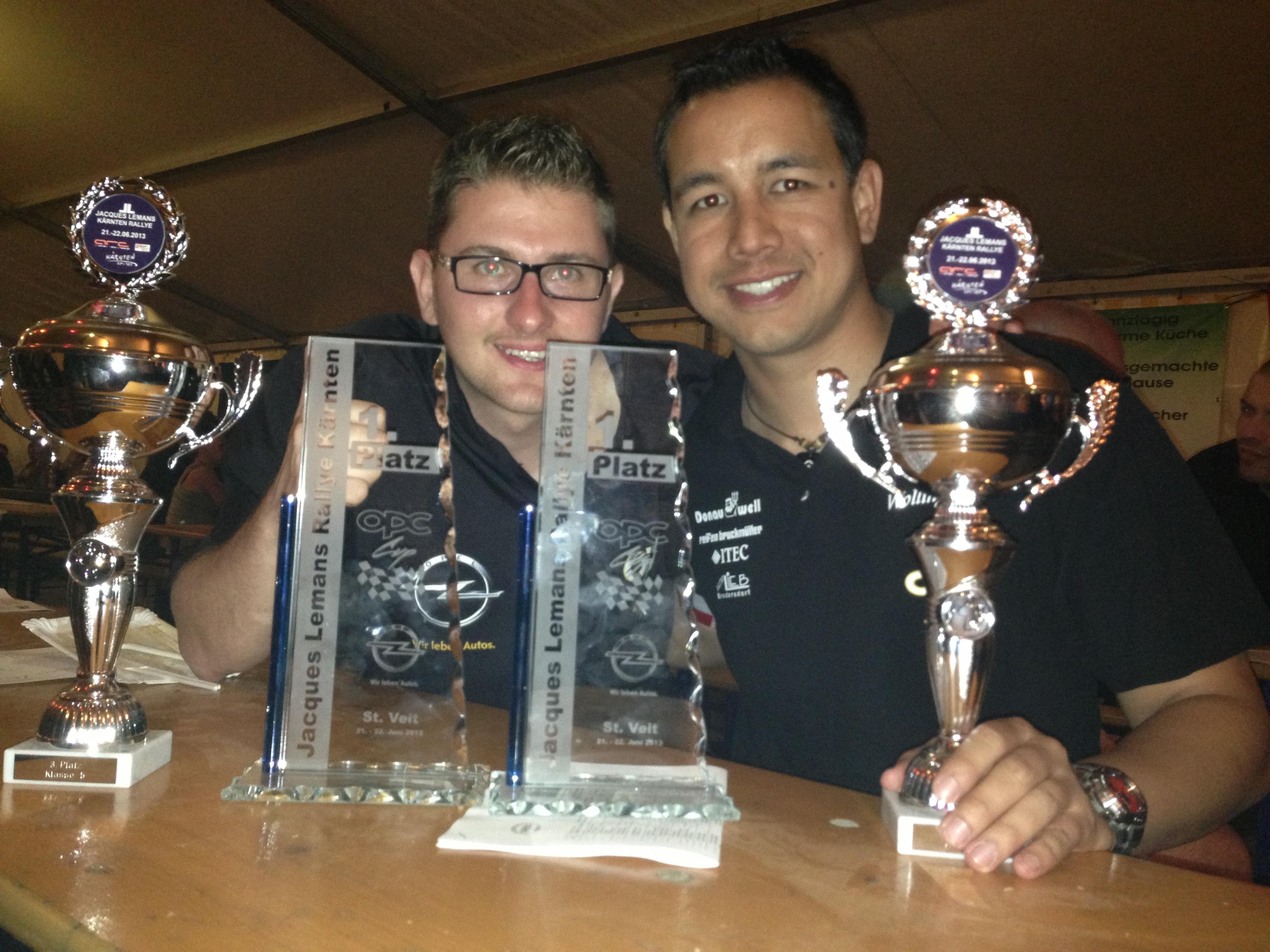 Sieg in der Opel Corsa OPC Cupwertung und 3. Platz in der Klasse!