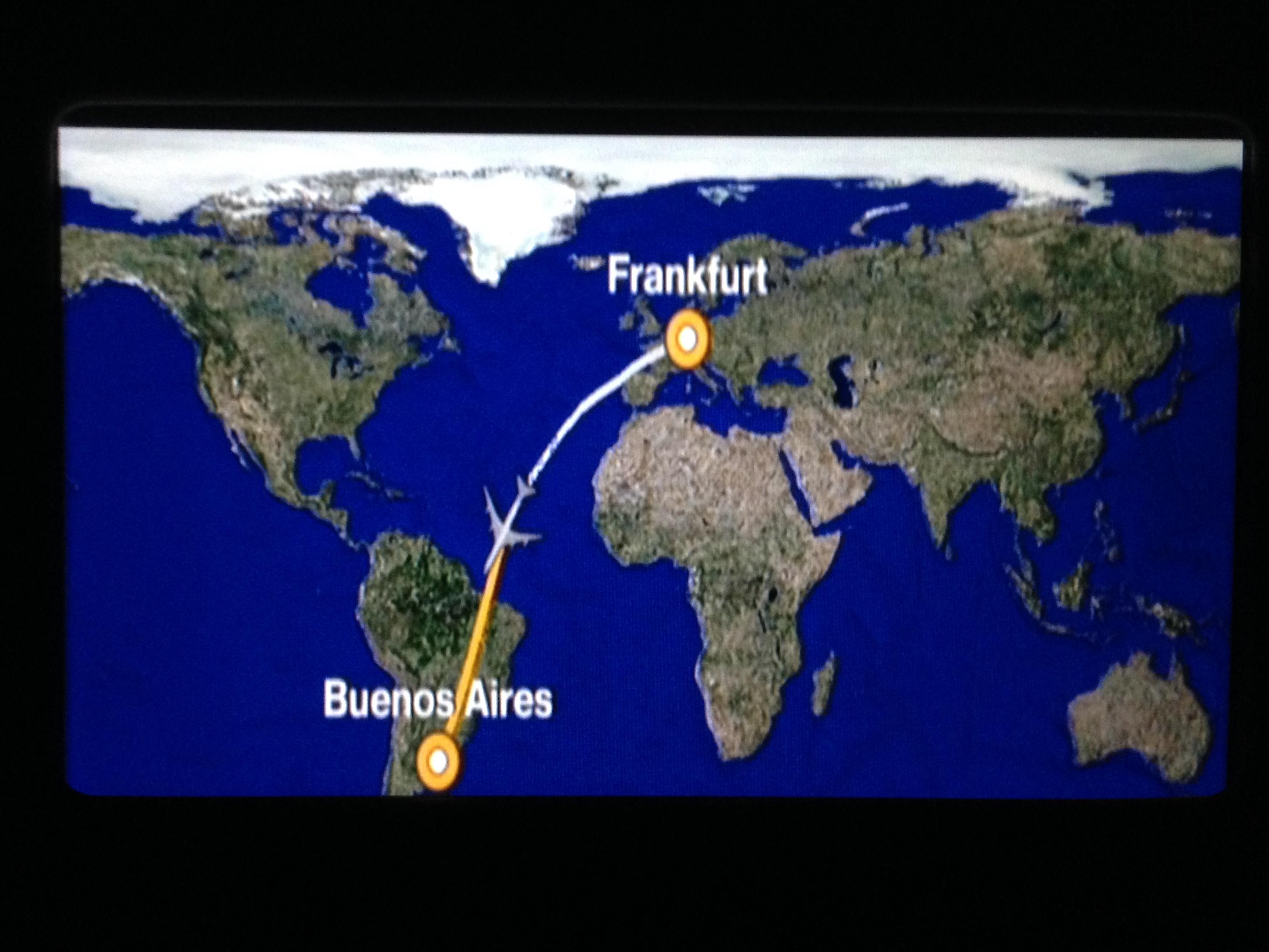 In 13 Stunden von Deutschland nach Argentinien