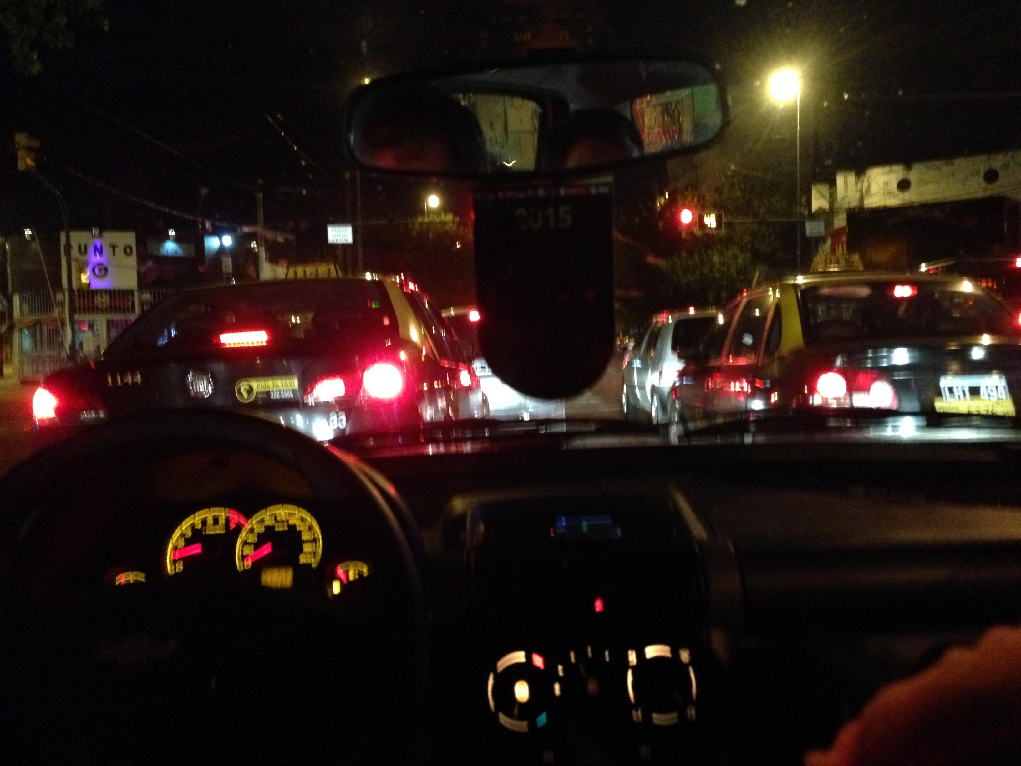 Rush hour in Rosario