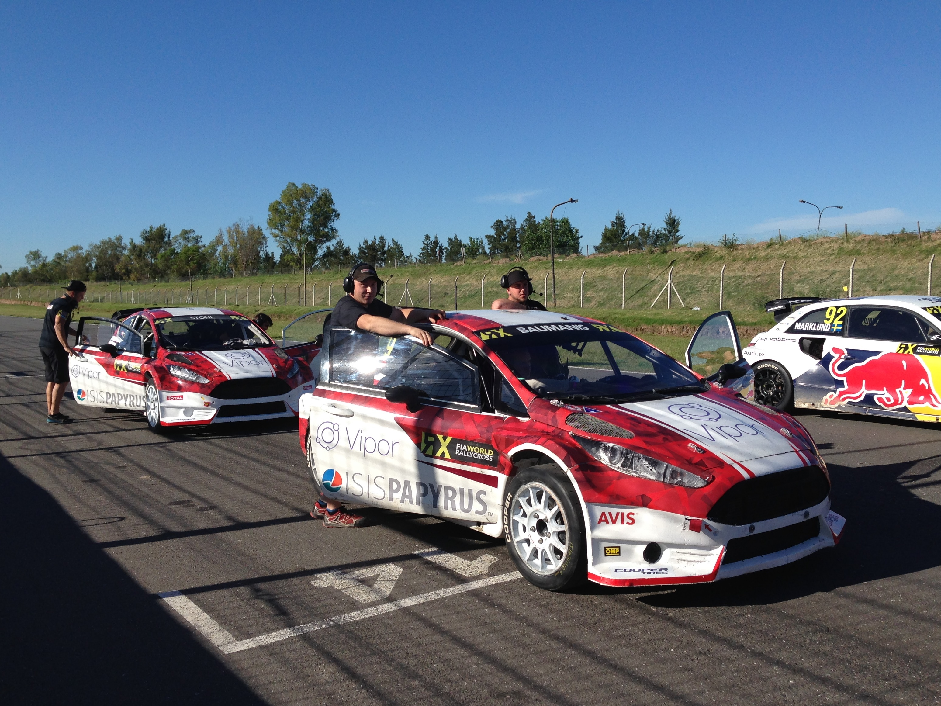 World RX Team Austria in Argentinien