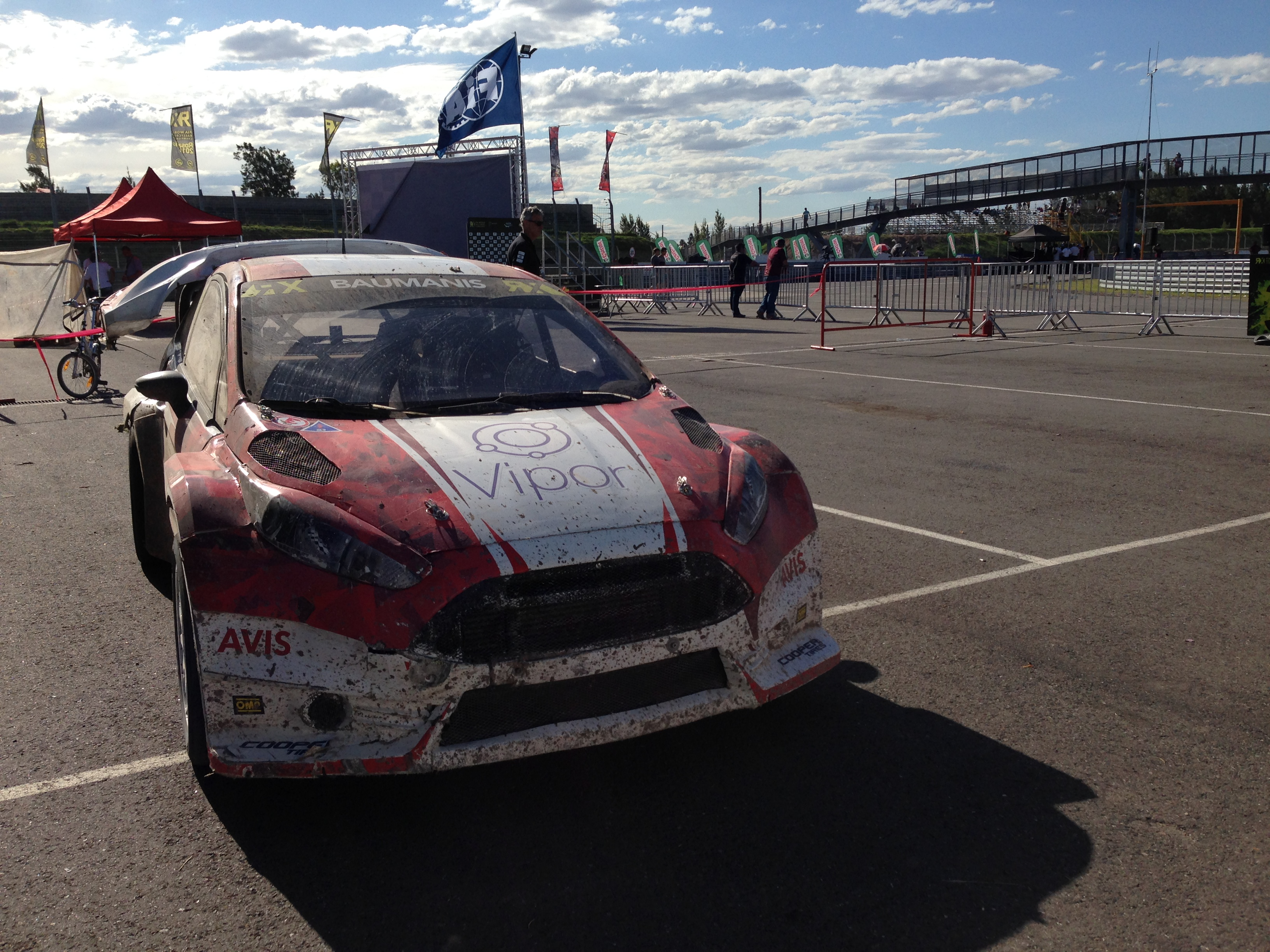 Das erfolgreiche Ford Fiesta Super Car nach dem Finale